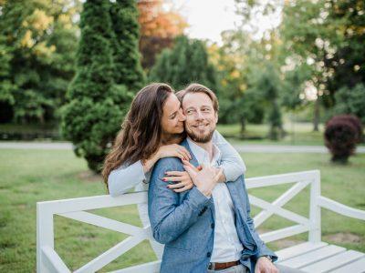 Verlobungsshooting im Schlosspark Laxenburg