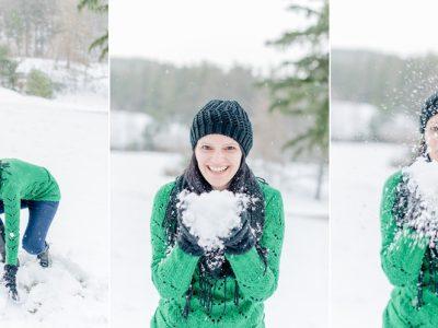Wintershooting mit Elke/Teil 1