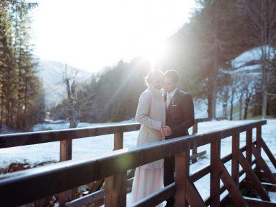 Nina & Bernhard: Eine Winterhochzeit im Dezember