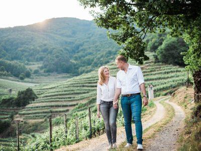 Verlobungsshooting in der Wachau